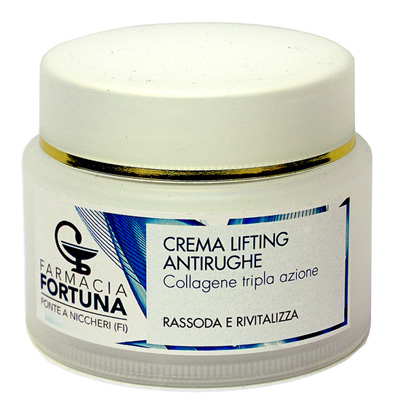 TuaFarmaOnline Crema Lifting Antirughe con Collagene Tripla Azione 50 ml