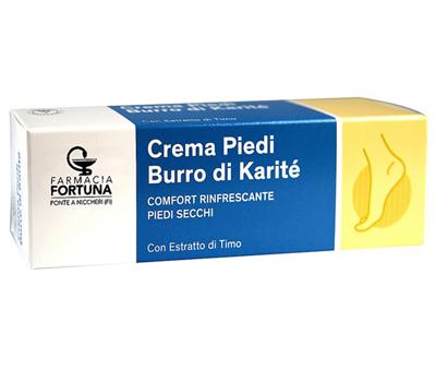 TuaFarmaOnline Crema per Piedi Secchi Burro di Karité Rinfrescante 75ml - latuafarmaciaonline.it