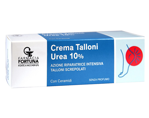 TuaFarmaOnline Crema per Talloni Screpolati Urea 10% Ammorbidente 75 ml - latuafarmaciaonline.it
