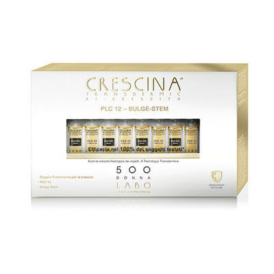 CRESCINA RI CRESCITA PLC12 BULGE STEM 500 DONNA 10+10 FIALE 3,5 ML - Farmaedo.it