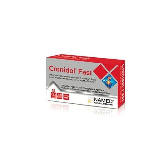 Cronidol Fast 20 Compresse.  - latuafarmaciaonline.it
