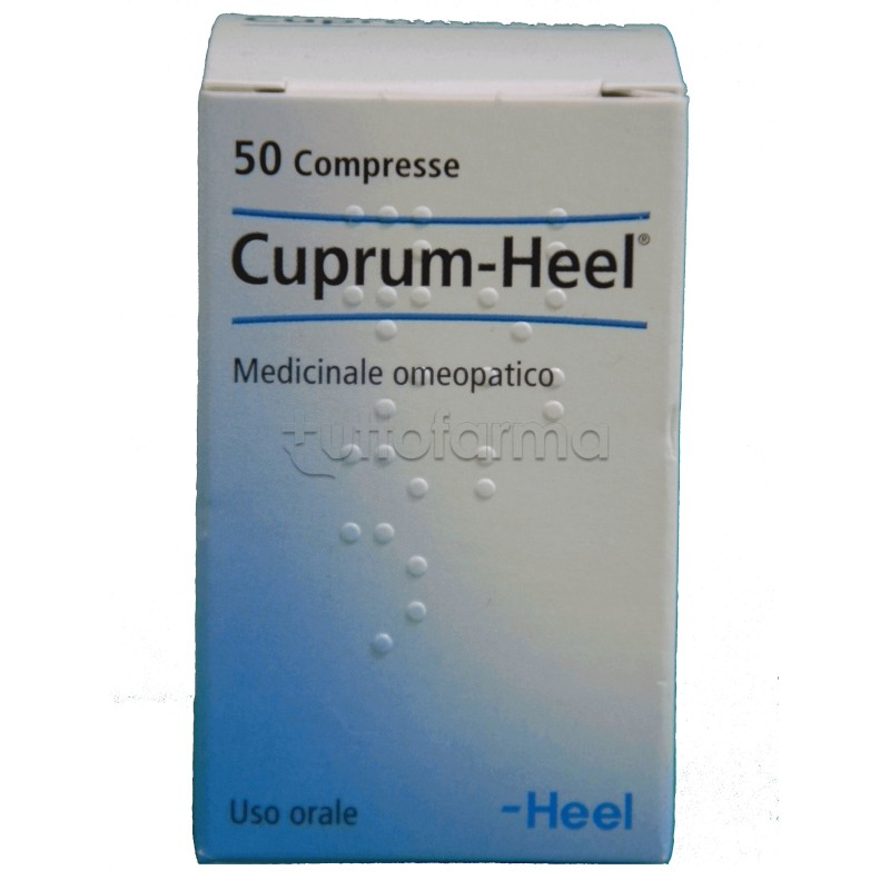 Cuprum Heel 50 Compresse - Farmalilla