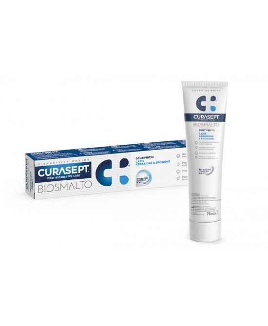Curadent Curasept Biosmalto Dentifricio Protezione Carie 75ml - Farmaconvenienza.it