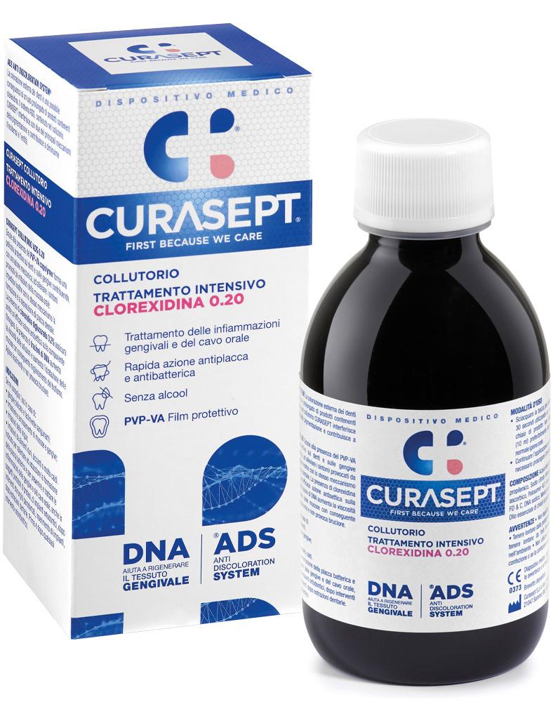 CURASEPT COLLUTORIO 0,20 ADS + DNA 200 ML - Farmacia Centrale Dr. Monteleone Adriano