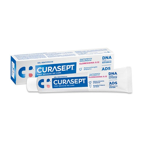 CURASEPT DENTIFRICIO 0,12 75 ML ADS+DNA - Farmapage.it