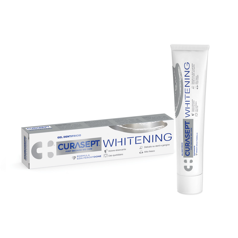 Curasept Whitening Dentifricio 75ml - Arcafarma.it