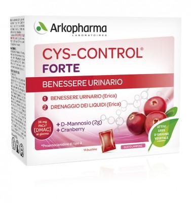 CYS CONTROL FORTE CON DMANNOSIO 14 BUSTINE 56 G - Farmalandia