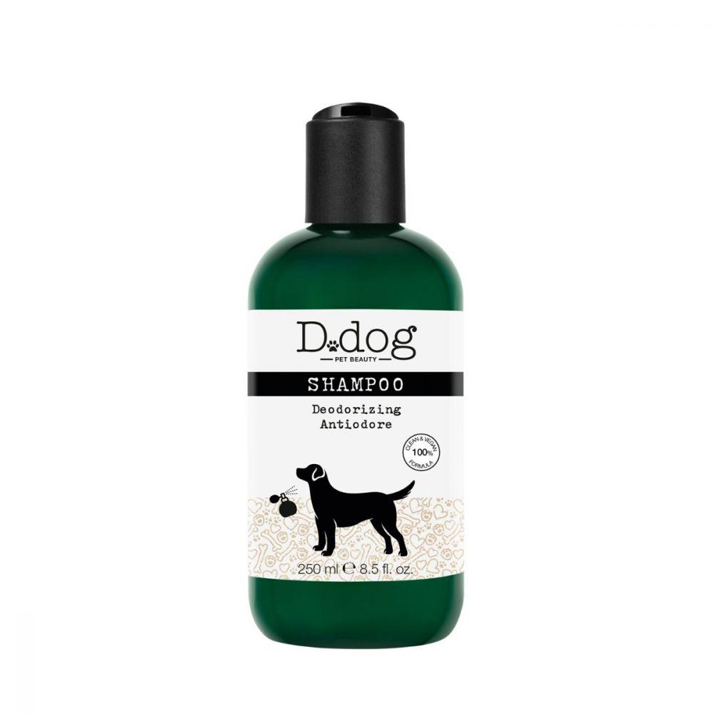 D DOG SHAMPOO ANTIODORE 250 ML - Farmacia Castel del Monte