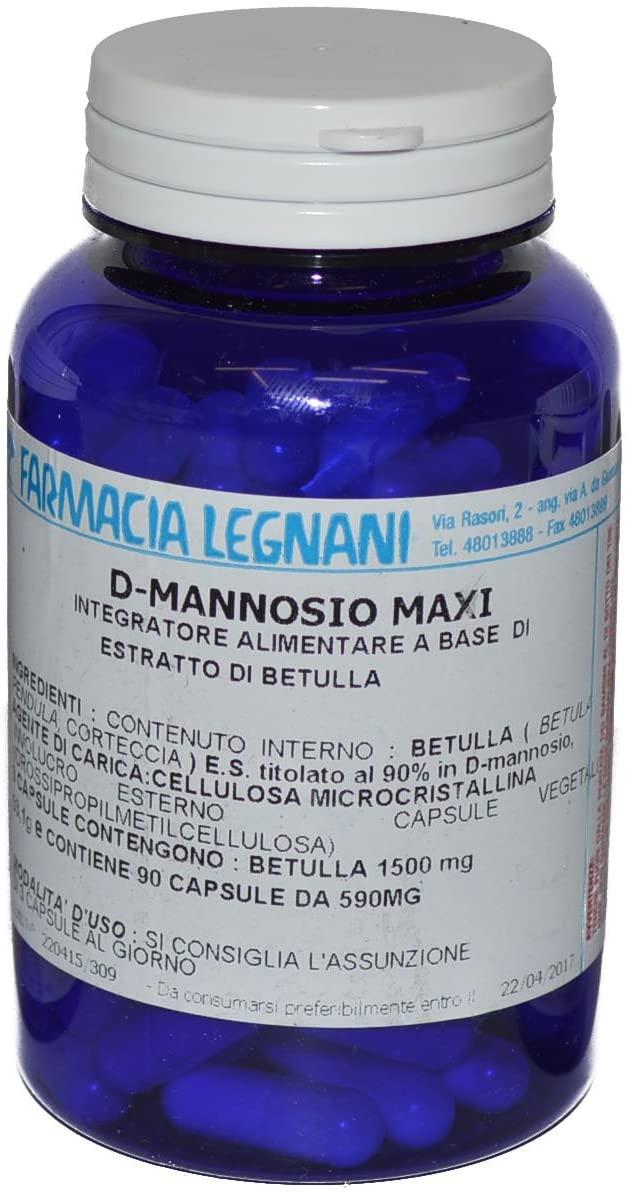 D-MANNOSIO MAXI 90 CAPSULE - keintegratore.com