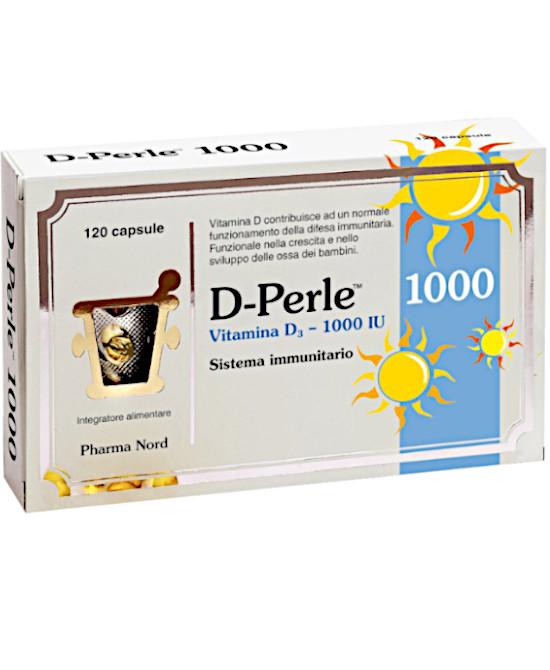 D-Perle 1000 Integratore per il sistema immunitario 120 perle - Farmaci.me