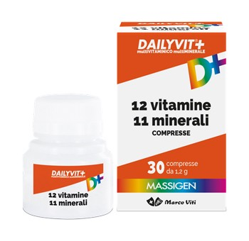 Dailyvit+ 30cpr Vitamine e Minerali - Nowfarma.it