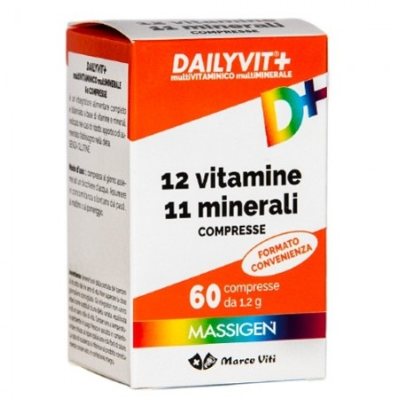 Dailyvit+ 60 Compresse - Farmafamily.it