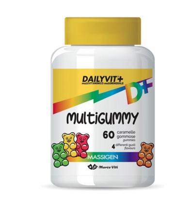 MASSIGEN DAILYVIT MULTIGUMMY CARAMELLE GOMMOSE - FARMAPRIME