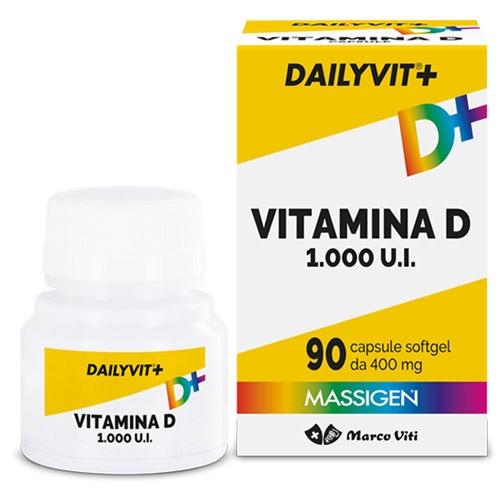 Dailyvit + Vitamina D 1000  90 compresse - latuafarmaciaonline.it