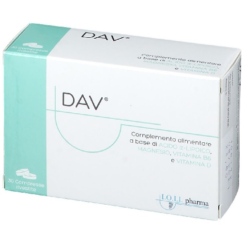 DAV 30 COMPRESSE - Farmafamily.it