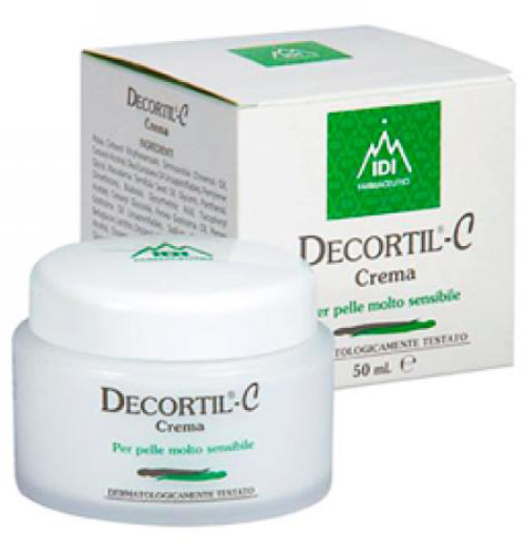 DECORTIL C CREMA VASETTO 50 ML - Farmacia Centrale Dr. Monteleone Adriano