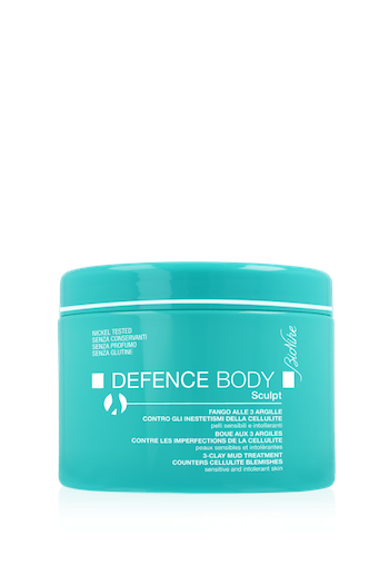 Defence Body Fango alle 3 Argille Sculpt 500g - Arcafarma.it