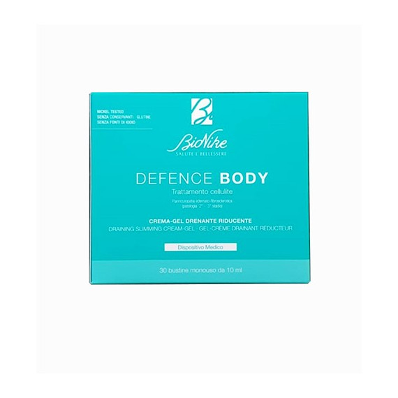 Bionike Defence Body Trattamento Cellulite 30 Bust - Zfarmacia