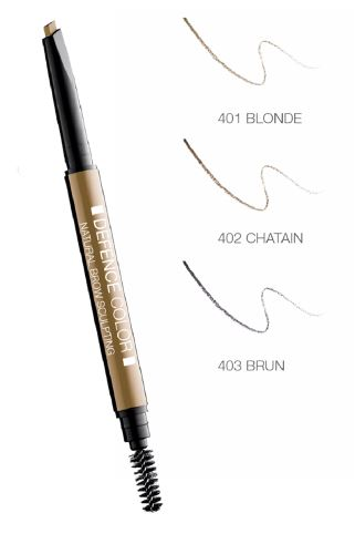 Defence Color Natural Brow Sculpting Matita Sopracciglia 402 Chatain - Farmacia 33
