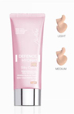 BioNike Defence Hydra5 BB Silky Cream Perfezionatore Dell'Incarnato SPF15 Medium - Farmacia 33