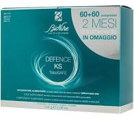 DEFENCE KS TRICOSAFE BIPACK 60 COMPRESSE + 60 COMPRESSE - Farmaedo.it