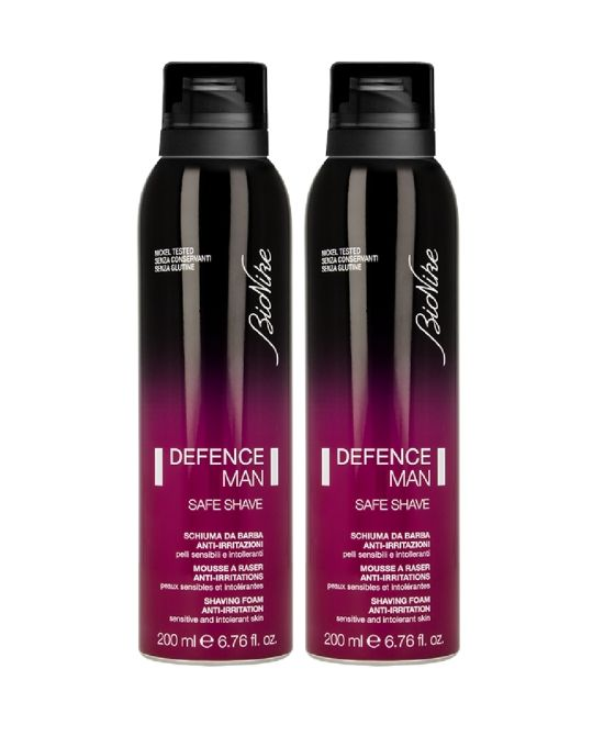 DEFENCE MAN SCHIUMA DA BARBA - bipack 2 X 200 ML - Farmapage.it