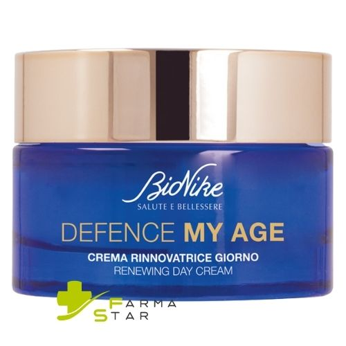 Defence My Age Crema Rinnovatrice Giorno 50ml Bionike + Defence Boost Concentrato Rinnovatore 30ml Bionike IN OMAGGIO - Farmastar.it