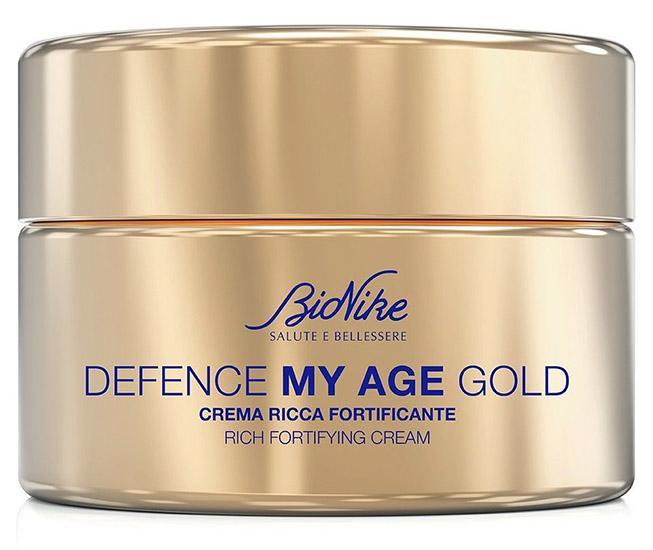 DEFENCE MY AGE GOLD CREMA RICCA FORTIFICANTE 50 ML - FARMAEMPORIO