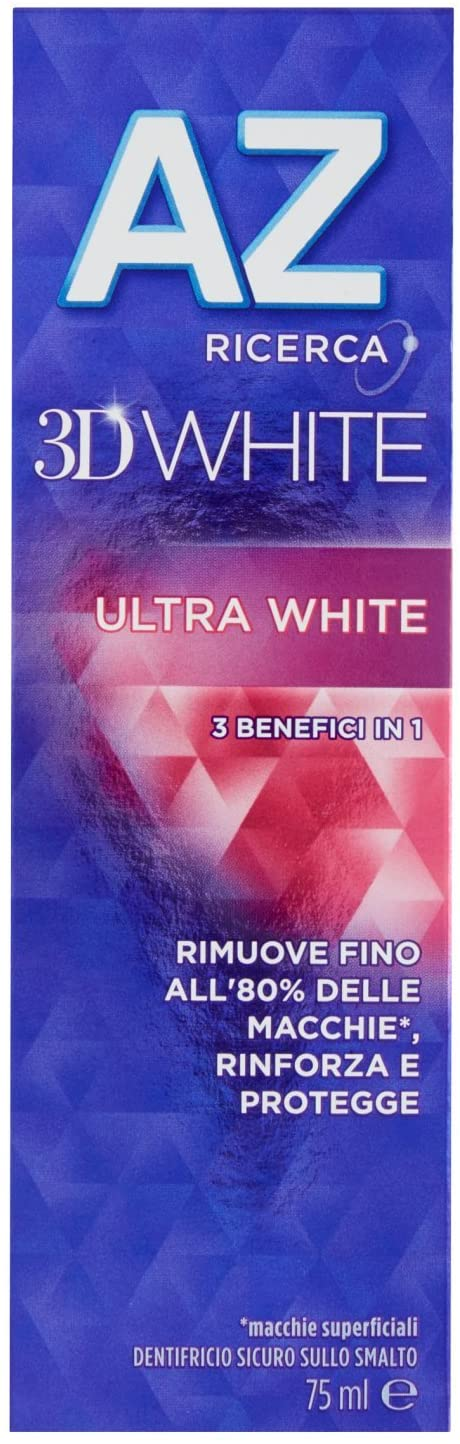 DENTIFRICIO ORAL B AZ 3D ULTRAWHITE 65 + 10 ML - farmaciafalquigolfoparadiso.it