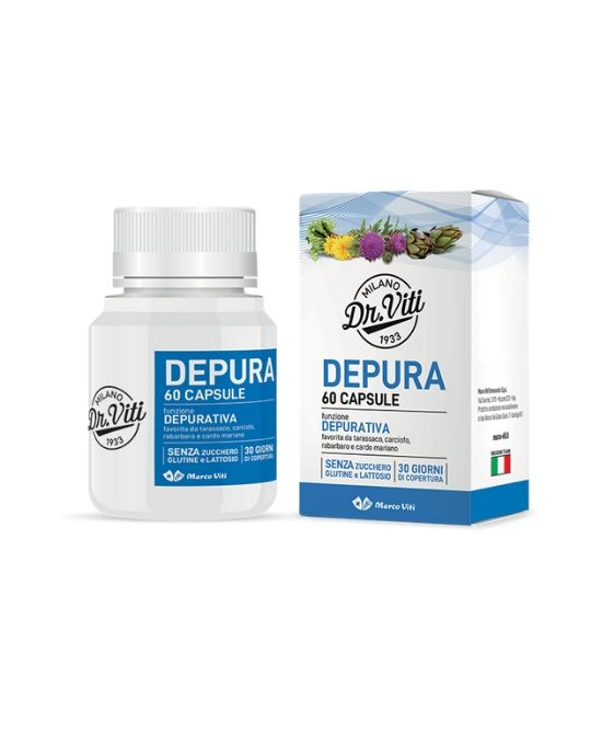 DEPURA 60 CAPSULE - Farmapage.it