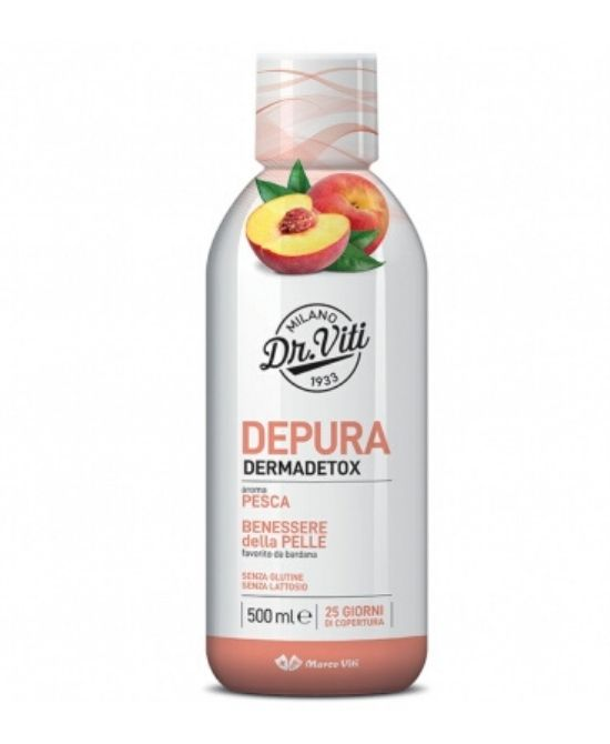 DEPURA DERMADETOX PESCA 500 ML - Farmapage.it