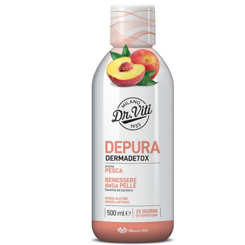 DEPURA DERMADETOX PESCA   500 ML - FARMAPRIME