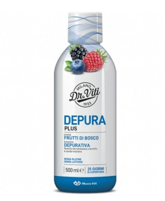 DEPURA PLUS FRUTTI DI BOSCO 500 ML - Farmapage.it