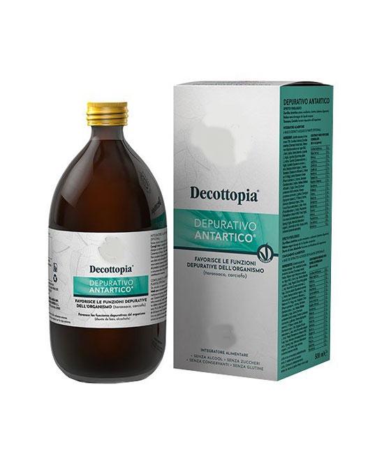Tisanoreica Decottopia Depurativo Antartico Flacone da 500ml - La tua farmacia online