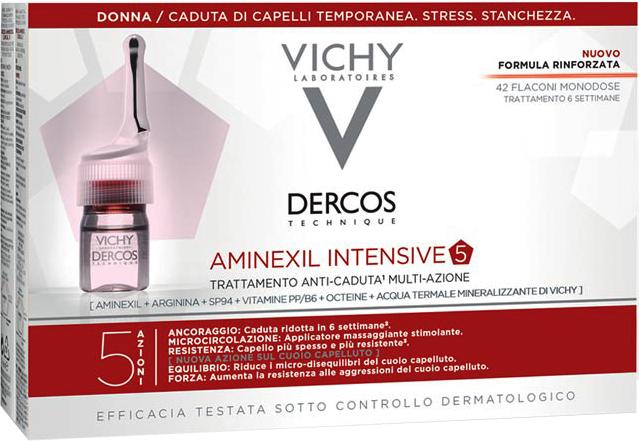 DERCOS AMINEXIL FIALE 21 DONNA 6 ML - Farmacia Centrale Dr. Monteleone Adriano