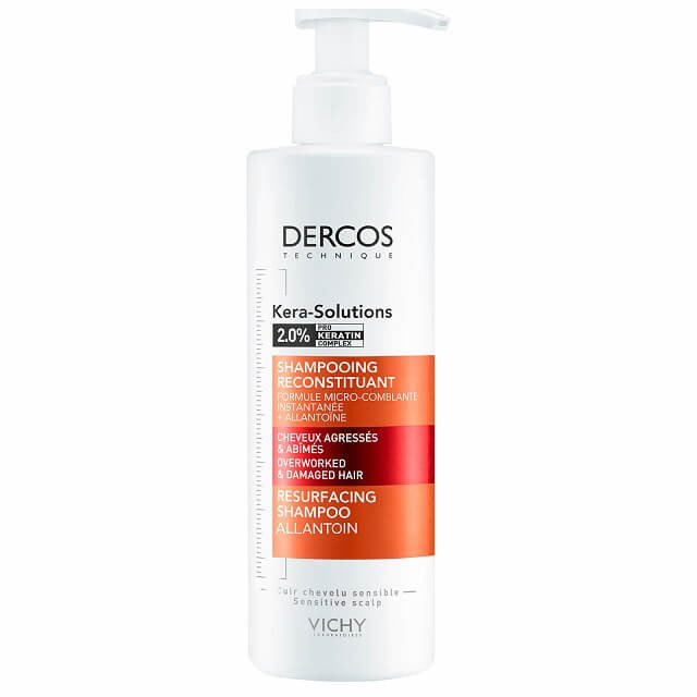 DERCOS TECHNIQUE KERASOL SHAMPOO RISTRUTTURANTE 250 ML - Farmapage.it
