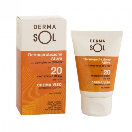 Dermasol Crema Viso Protezione Media SPF 20 - 50 ml - Farmaconvenienza.it
