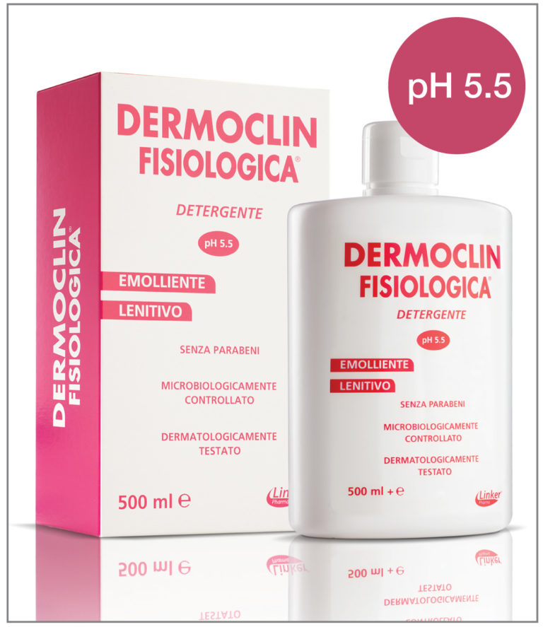 Dermoclin Fisiologica 500ml - Farmafamily.it