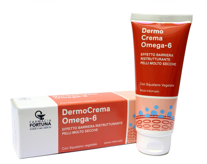 TuaFarmaonLine DermoCrema Omega 6 Barriera Ristrutturante Pelli Secche 100 ml