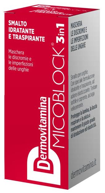 DERMOVITAMINA MICO SMALTO ROSSO 5 ML - Farmacia Centrale Dr. Monteleone Adriano