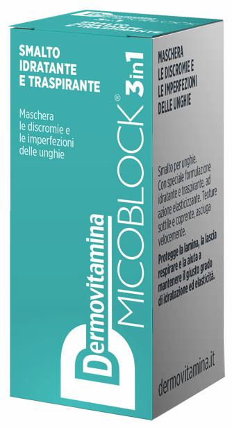DERMOVITAMINA MICO SMALTO TURCHESE 5 ML - Farmacia Centrale Dr. Monteleone Adriano