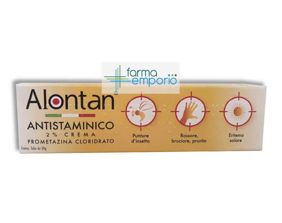 Dertexin2% Crema 30g Alontan antistaminico - FARMAEMPORIO