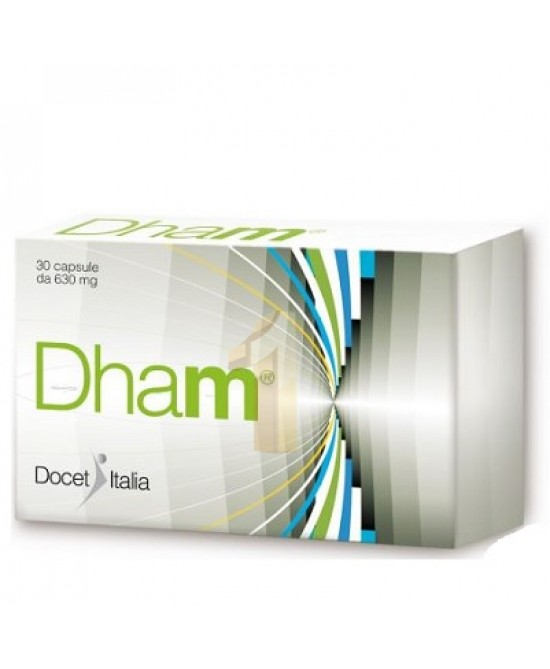 DHAM 30 CAPSULE - latuafarmaciaonline.it