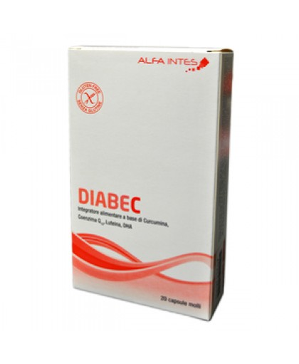 Diabec Integratore Alimentare 20 Capsule - Farmaciasconti.it