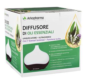 Arkopharma Diffusore di Oli Essenziali Umidificatore Ultrasonico Funzione Turbo - La tua farmacia online
