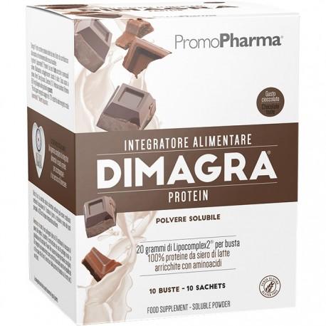 Dimagra Protein Cioccolato 10 Buste - Sempredisponibile.it