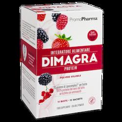 Dimagra Protein Red Fruit 10 Bustine - Sempredisponibile.it