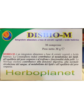 Disbio M 30 compresse Herboplanet - Farmastar.it