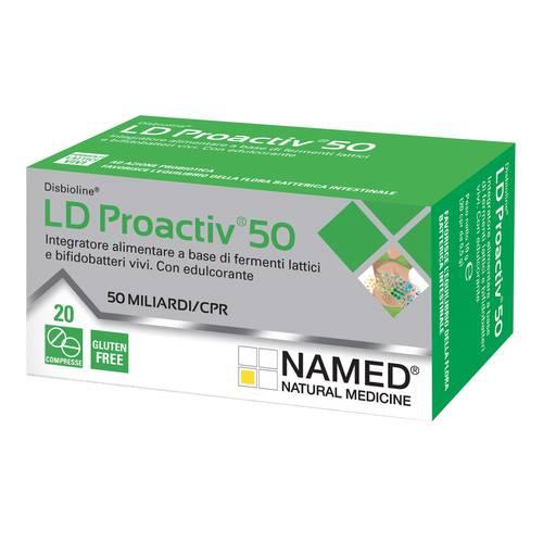 NAMED DISBIOLINE LD PROACTIV 50 20 COMPRESSE - FARMAPRIME