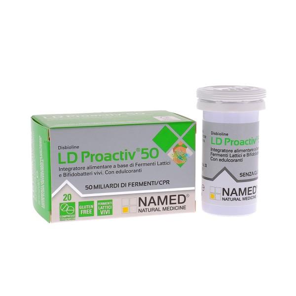 NAMED DISBIOLINE LD PROACTIV 50 20 COMPRESSE - Farmastar.it